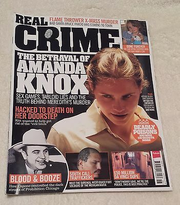 REAL CRIME MAGAZINE Dec. 2016 Issue 018 Detective Murder Police Criminal Justice