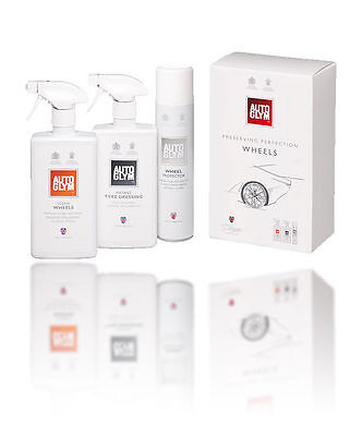 Autoglym Perfect Wheels Collection Valeting Kit Car Care Cleaning Gift Set