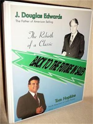 Tom Hoplins Back to the Future in Sales CLOSING J DOUGLAS EDWARDS 6 CDS+ 6 TAPES
