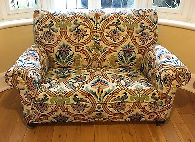 Superb Art Deco Two Seater Sofa C1920 - Fabric Colefax And Fowler