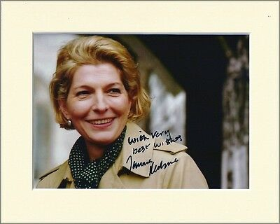 Jemma Redgrave Pp Mounted 8X10 Signed Autograph Photo