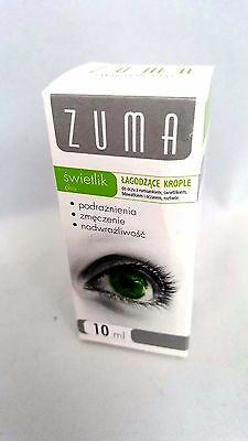 Pl/ Zuma Krople Do Oczu,Swietlik,Rumiankiem/ Eye Drops with Camomile Refreshing