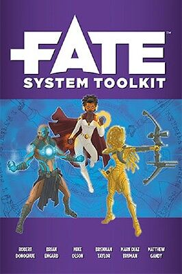 Fate Role Playing Game - System Toolkit - RPG Supplement from Evil Hat