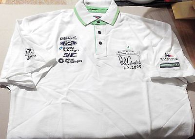 2000 America's Cup Challenge ~ America One ~ Crew Polo ~ Signed By Skipper