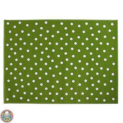 Lorena Canals Tg: 140 X 200 Cm Verde A-G Dot-Gr Dots Green/ Nuovo