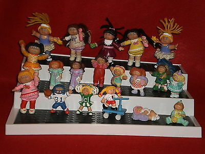 Xavier Roberts CABBAGE PATCH KIDS Lot of 19 Posable PVC Dolls Figures Figurines