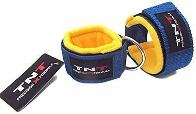Ankle Straps Multi Cable Gym Machine Attachment 1 Pair STRAAT Wool Padded Strap