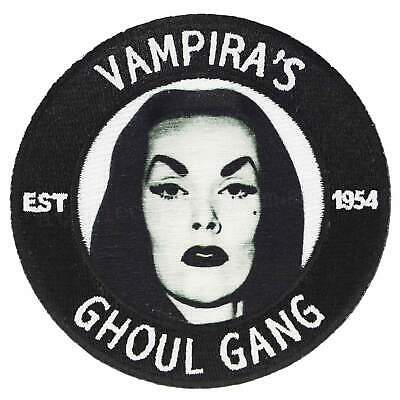 Kreepsville 666 Vampira's Ghoul Gang Iron On Patch Gothic Punk Rockabilly Horror