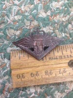 World War II Australian Military Forces Badge Return From Active Service Navy...