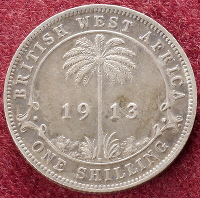 British West Africa Shilling 1913 (D1101)
