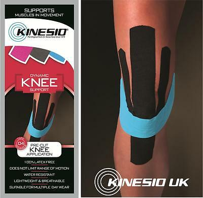 KINESIO Pre Cut Tape - Kinesiology tape for KNEE injuries & support. FREE POST