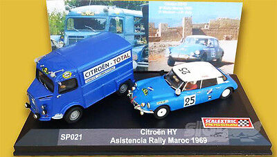 SCALEXTRICPASSION SP021 Rally Maroc 1969 Citroën Official Assistance 1/32  #NEW#
