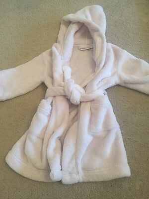 The Little White Company Pink Dressing Gown 18-24 Months