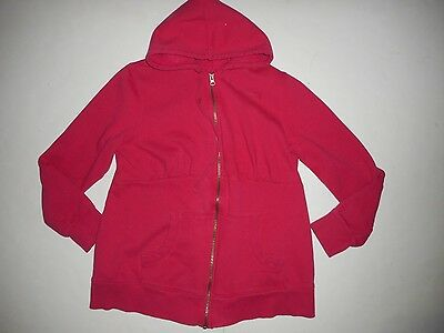 Old Navy Maternity Pink Hooded Full Zip Sweatshirt Hoodie Size Large L
