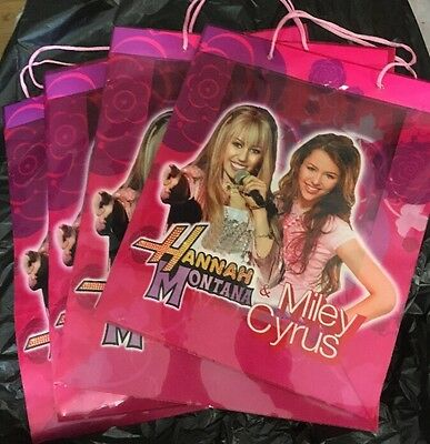 Large Miley Cyrus And Hannah Montana Gift Bag
