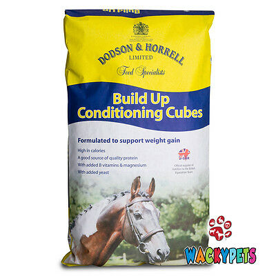 SPECIAL OFFER: Dodson & Horrell Build Up Conditioning Cubes 20kg Horse (DH014)