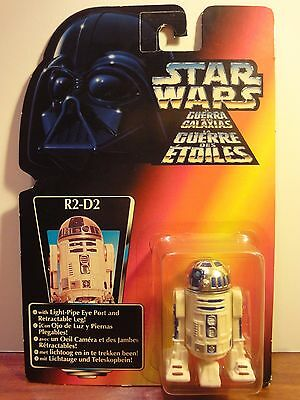 Star Wars. Power of the Force. R2-D2. 1995. Kenner. Blister tri-logo.