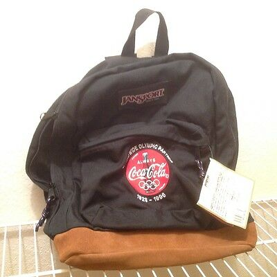Coca-Cola Olympic Backpack with Jansport Tags