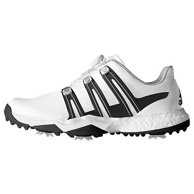 New 2017 Adidas Powerband Boa Boost Golf Shoes WD (Various Colours)
