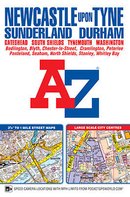Newcastle upon Tyne Street Atlas by A-Z Maps (2017, paperback)