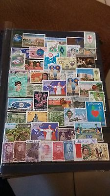 47 timbres Philippines (lot D)