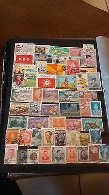 54 timbres Philippines (lot E)