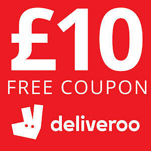 £10 OFF DELIVEROO TAKEAWAY VOUCHER / PROMO CODE! *Information in listing*
