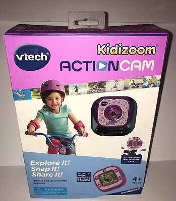 VTech Kidizoom Action Cam - Purple New Never Opened