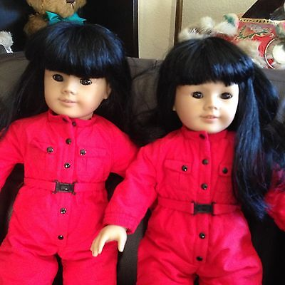 Asian American Girl Twins #4 Pleasant Company 3 Outfits Each