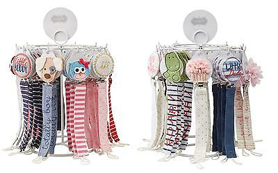 Mud Pie E7 Baby Boy Pacy Pacifier Clips Football, Puppy, Dino – Various Designs