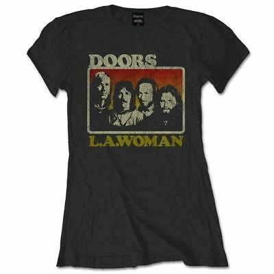 The Doors 'LA Woman' Womens Fitted T-Shirt - NEW & OFFICIAL!