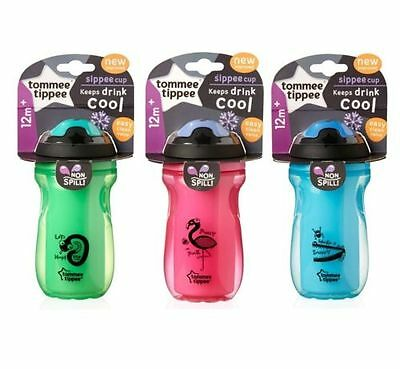 Tommee Tippee Insulated sippee cup  easy clean valve  12m+  boys/girls  bpa free