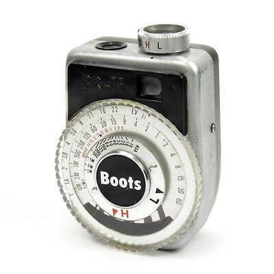 Vintage Boots PR-75 Light Exposure Meter with Carry Cord