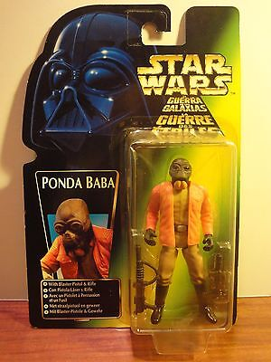 Star Wars. Power of the Force. PONDA BABA. 1997. Kenner. Blister tri-logo.