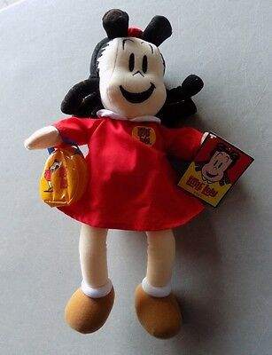 1999 Little Lulu Doll with Purse * Plush 16 Inch * Made By Eden *