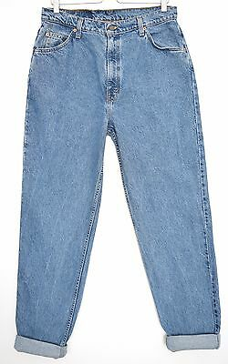 Vintage USA Levis 921 High Waisted Tapered Blue MOM Jeans Size 14 W32 L32