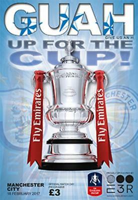 2016/17 - HUDDERSFIELD TOWN v MAN CITY (FA CUP 5th ROUND - 18th February 2017)
