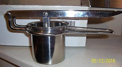 New - Coopers Stainless Steel Potato Masher / Ricer