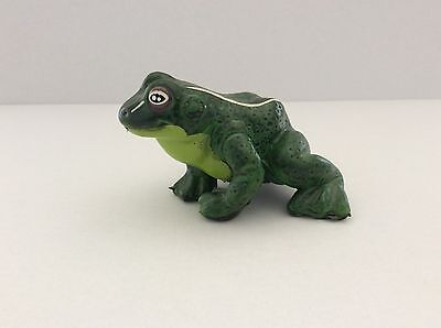 """3"""" Rubber Squishy Frog/Toad With Comical Grin Painted and Detailed"""