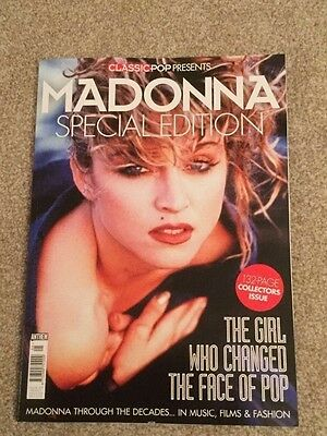 *uk* Classic Pop Madonna Special Edition Magazine New Collectors Issue