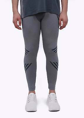 New Mens Adidas Originals White Mountaineering Onix Knit Running Tights M AO0855