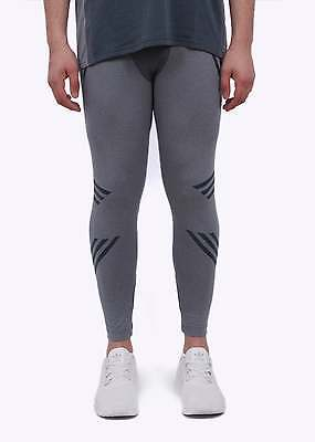New Mens Adidas Originals White Mountaineering Onix Knit Running Tights L AO0855