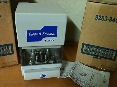 2 NEW EcoLab Institutional Clean & Smooth Soap Dispenser