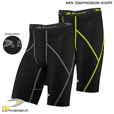 New Mens Compression Shorts Sports Briefs skin tight fit gym Runing Base layers