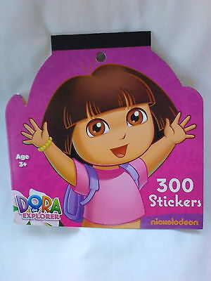 Nickelodeon Dora  Sticker Book  300 Stickers 3+, Boys and Girls