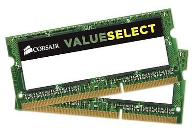 Corsair VS8GSDSKIT800D2 Value Select Memoria da 8 GB (2x4 GB), DDR2, 800 MHz, CL