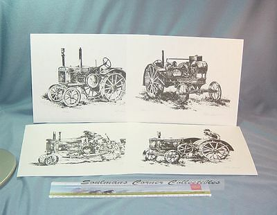 Limited Signed Numbered John Deere Prints Raymond L Crouse ** FREE SHIPPING **