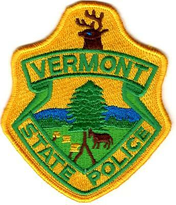 Vermont State Police Patch Vermont VT NEW