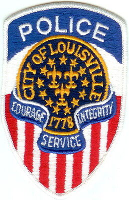 City of Louisville Police Patch Kentucky KY NEW