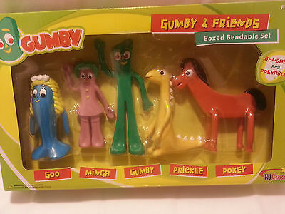 Gumby and friends - 5 boxed bendable set